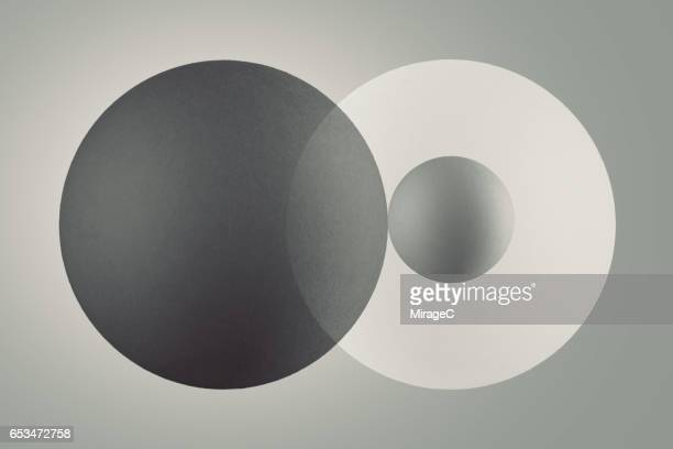 neutral grey tint color - sphere stock pictures, royalty-free photos & images