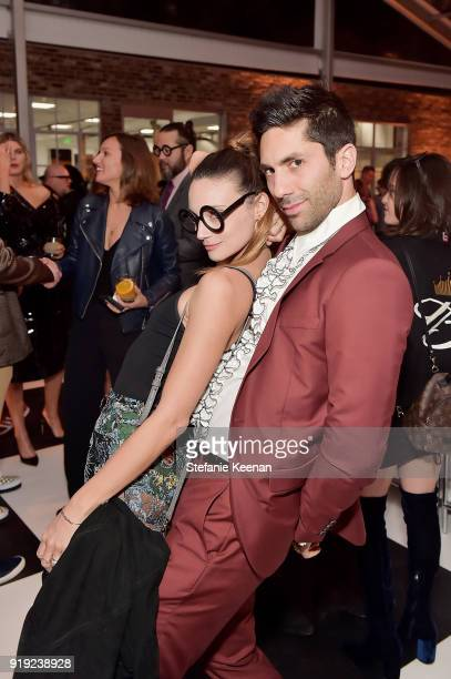 Nev Schoulman and Laura Perlongo attend Mr Chow 50 Years on February 16 2018 in Vernon California