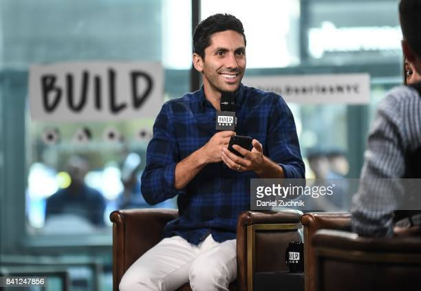 Nev Schulman attends the Build Series to discuss the show 'Catfish' at Build Studio on August 31 2017 in New York City