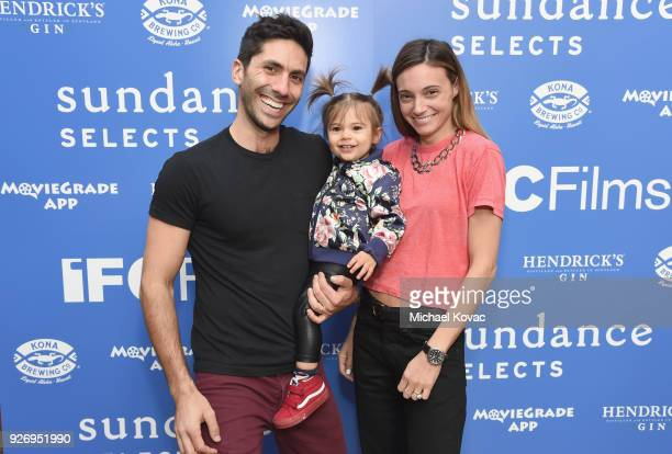 Nev Schulman Cleo James Shulman and Laura Perlongo attend the IFC Films Independent Spirit Awards After Party presented by MovieGrade App Hendricks...