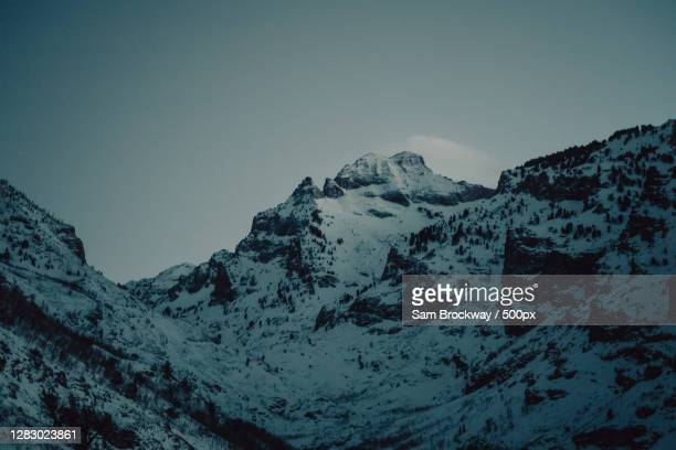 nevada alps,lamoille canyon,nevada,united states,usa - nevada stock pictures, royalty-free photos & images