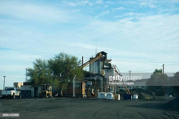 Nevada Arizona Ajo Copper Mine Processing Facility