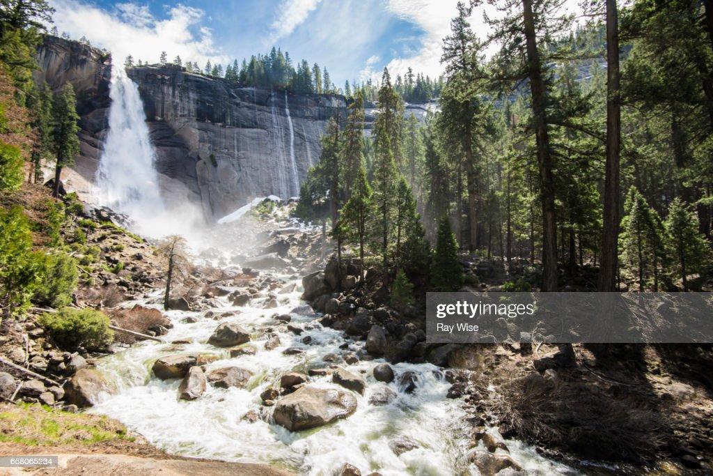 Nevada Falls : Stock Photo