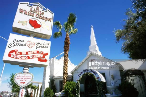 Nevada Las Vegas A Little White Chapel Wedding