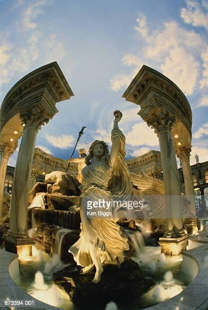 usa, nevada, las vegas, caesar's palace, forum shops, statues - シーザースパレス ストックフォトと画像