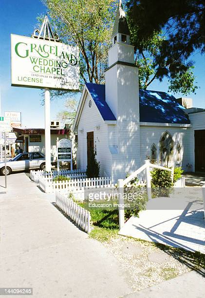 Graceland Wedding Chapel.Nevada Las Vegas Graceland Wedding Chapel News Photo
