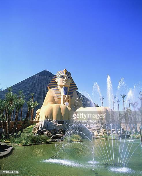USA, Nevada, Las Vegas, Luxor Hotel