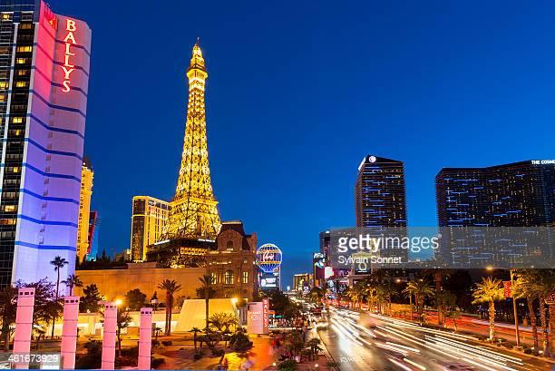 USA, Nevada, Las Vegas, Paris Las vegas Hotel.