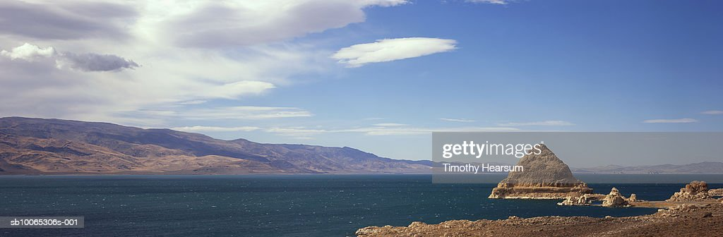 USA, Nevada, near Reno, Pyramid Lake : Foto stock