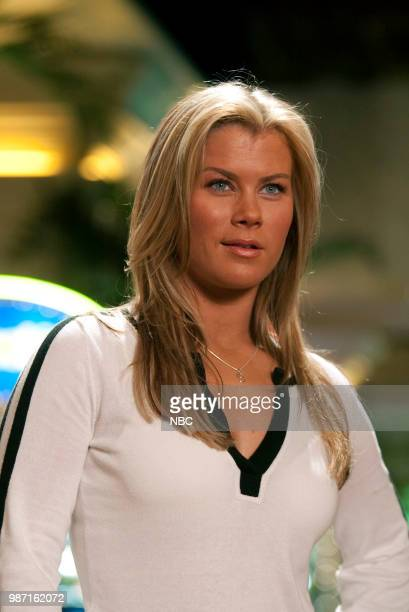 LAS VEGAS 'Nevada State' Episode 18 Pictured Alison Sweeney as Caroline Pzarchik Photo by Paul Drinkwater/NBC/NBCU Photo Bank via Getty Images