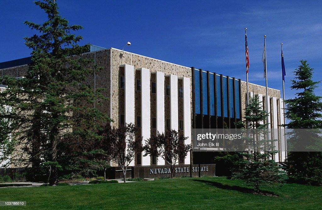 Nevada State Legislative Building. : Stock Photo
