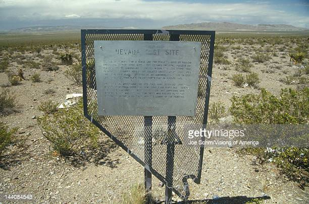 Nevada Test Site nuclear testing grounds north of Las Vegas NV
