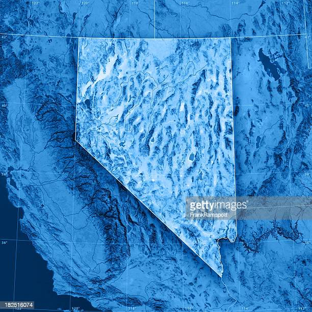nevada topographic map - frank ramspott stock pictures, royalty-free photos & images