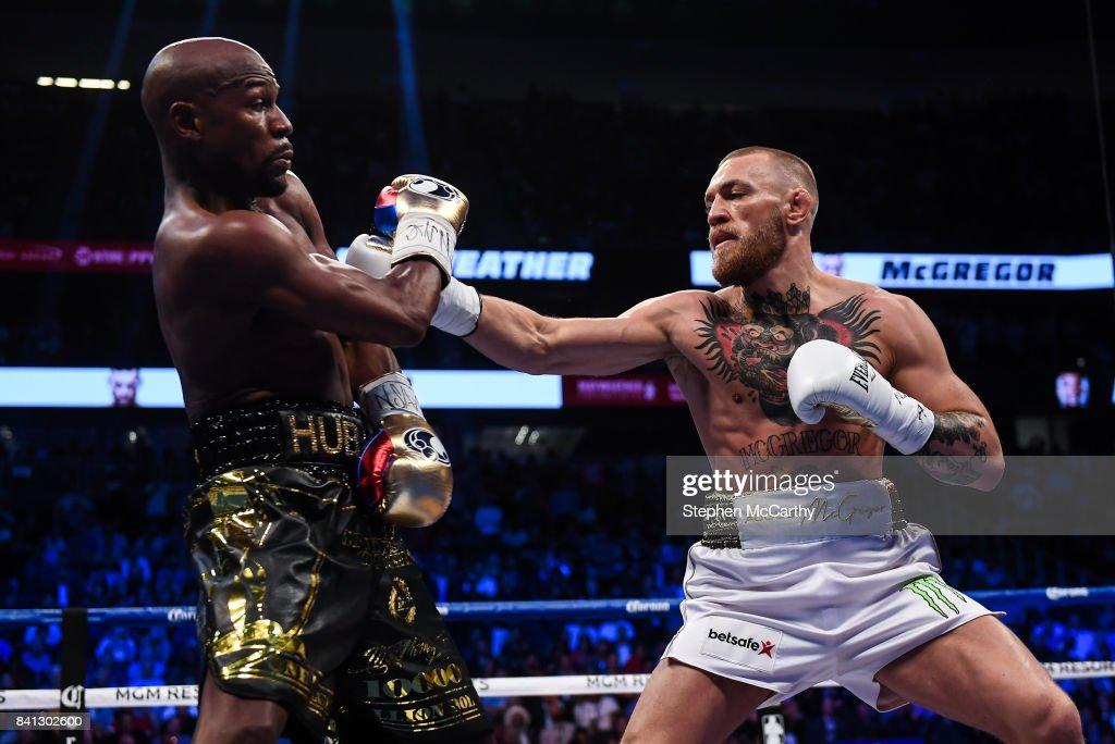 Floyd Mayweather Jr v Conor McGregor : Fotografía de noticias