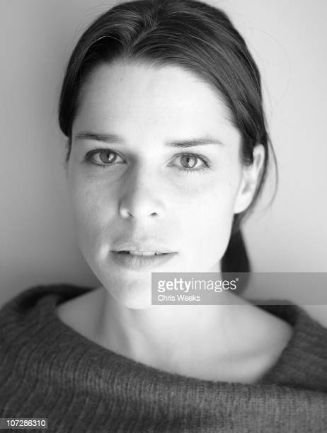 Neve Campbell at Activision St Jude House during 2005 Sundance Film Festival Park City Black White Photography by Chris Weeks in Park City Utah...