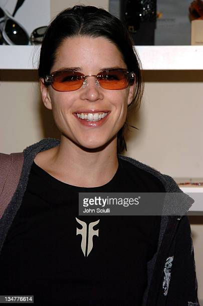 Neve Campbell at Fred Segal during 2005 Park City Fred Segal Boutique at Village at the Lift at Village at the Lift in Park City Utah United States