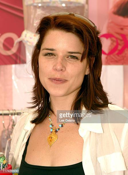 Neve Campbell at XOXO during Silver Spoon Hollywood Buffet Day One at Private Estate in Hollywood California United States Photo by Lee...