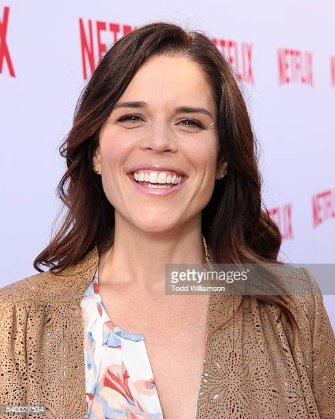 Neve Campbell attends Netflix's Emmy Season Casting Event at Paramount Theatre on June 13 2016 in Hollywood California