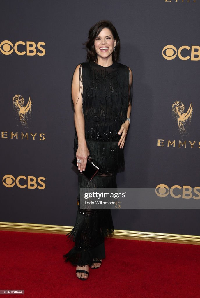 Neve Campbell attends the 69th Annual Primetime Emmy Awards at Microsoft Theater on September 17, 2017 in Los Angeles, California.