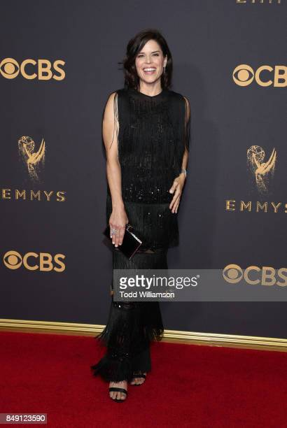 Neve Campbell attends the 69th Annual Primetime Emmy Awards at Microsoft Theater on September 17 2017 in Los Angeles California