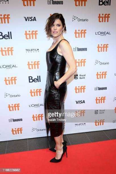 Neve Campbell attends the Castle In The Ground premiere during the 2019 Toronto International Film Festival at TIFF Bell Lightbox on September 05...