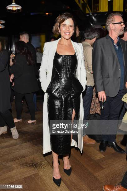 Neve Campbell attends the Castle in the Ground world premiere party at Weslodge during the Toronto International Film Festival on September 05 2019...