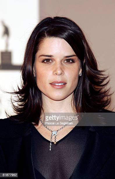 Neve Campbell attends the Nijinsky Awards Ceremony at The Monaco Dance Forum on December 18 2004 in Monte Carlo Monaco Previous winners include Lucia...