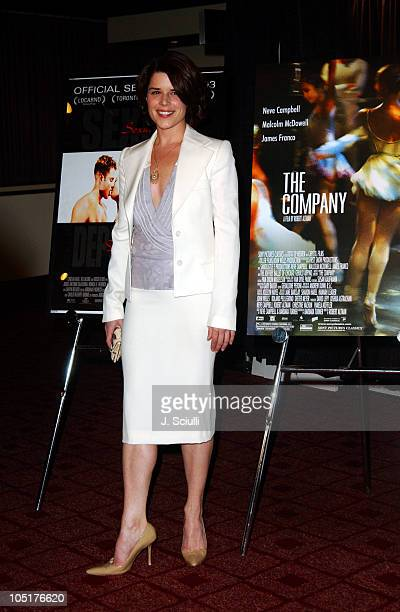Neve Campbell during 2003 AFI Festival The Company Premiere at Arclight Cinemas in Hollywood California United States