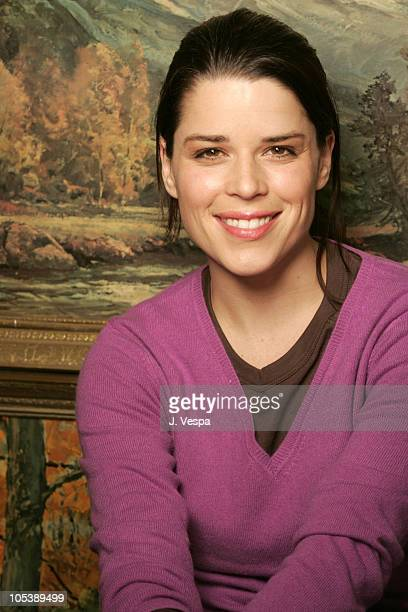 Neve Campbell during 2005 Sundance Film Festival Reefer Madness Portraits at HP Portrait Studio in Park City Utah United States