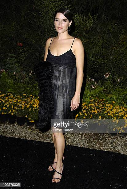 """Neve Campbell during 3rd Annual """" An Enduring Vision """" Fundraiser - Arrivals at Pelican Hill Golf Club in Newport Beach, California, United States."""