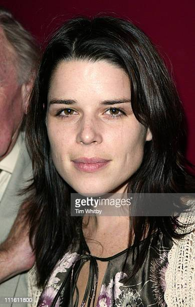 Neve Campbell during Churchill The Hollywood Years Press Screening Inside Arrivals at Soho Hotel in London England Great Britain