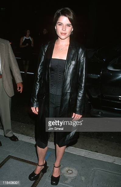 Neve Campbell during Party of Five 100th Episode Celebration at Cicada Restaurant in Los Angeles California United States