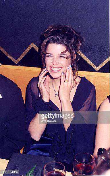 """Neve Campbell during """"Scream"""" Premiere in Los Angeles, California, United States."""