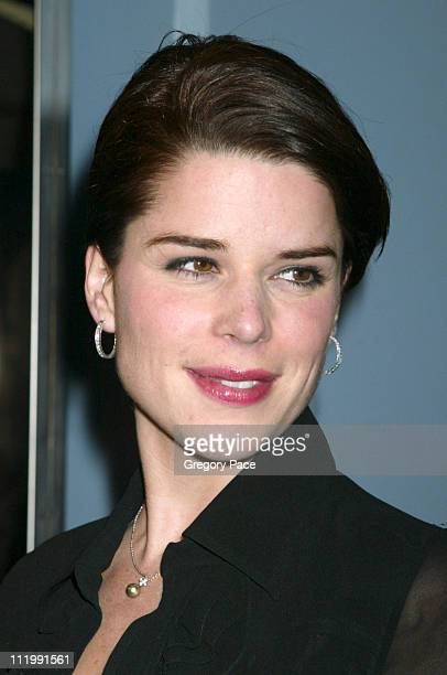 Neve Campbell during The Company New York Premiere Inside Arrivals at Paris Theatre in New York City New York United States