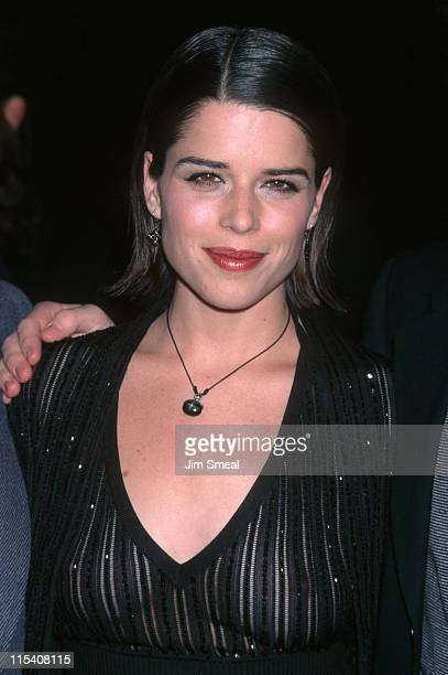 Neve Campbell during Wild Things Los Angeles Premiere at Hollywood Galaxy Theatre in Los Angeles California United States