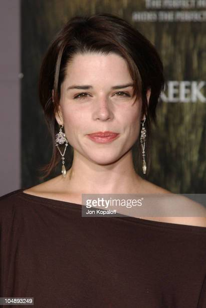 Neve Campbell during World Premiere of Cold Creek Manor at El Capitan Theatre in Hollywood California United States