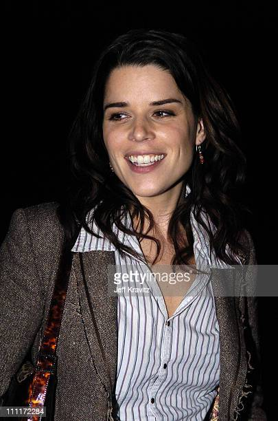 Neve Campbell of 'Reefer Madness' during Showtime TCA Press Tour Party Inside at Universal Studios in Universal City California United States
