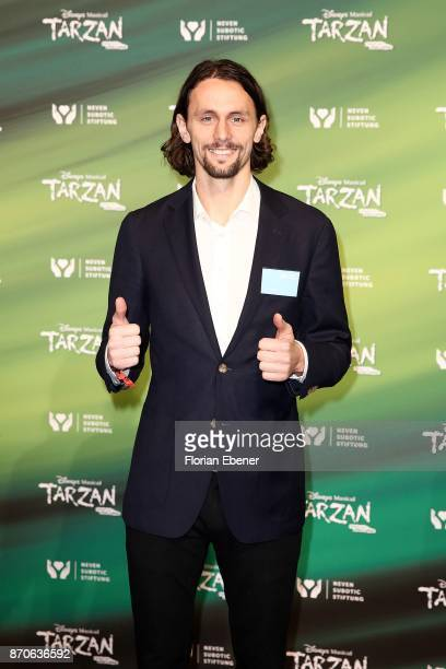 Neven Subotic attends the anniversary celebration of the musical 'Tarzan at Stage Metronom Theater on November 5 2017 in Oberhausen Germany