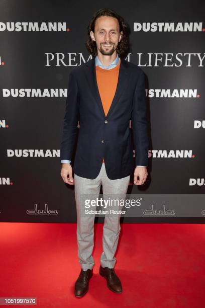 Neven Subotic attends the Dustmann store pre-opening on October 12, 2018 in Dortmund, Germany.