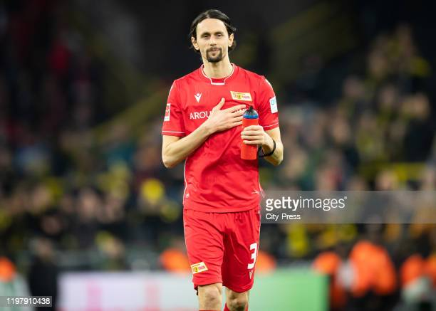 Neven Subotic of 1.FC Union Berlin reacts after the game between Borussia Dortmund and the 1 FC Union Berlin on february 1, 2020 in Dortmund, Germany.