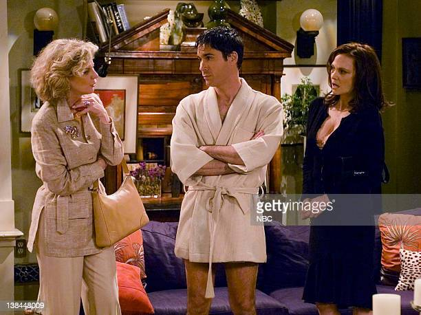WILL GRACE I Never Cheered for My Father Episode 21 Aired 4/8/04 Pictured Blythe Danner as Marilyn Truman Eric McCormack as Will Truman Lesley Ann...