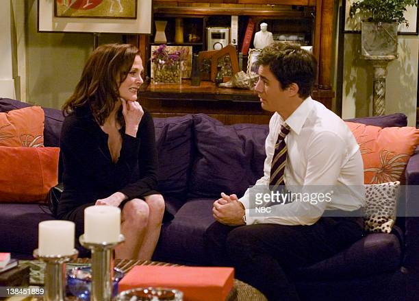WILL GRACE I Never Cheered for My Father Episode 21 Aired 4/8/04 Pictured Lesley Ann Warren as Tina Eric McCormack as Will Truman