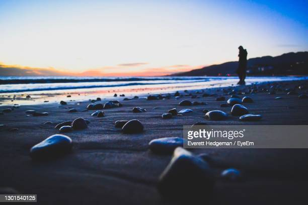 never ending beauty - malibu beach stock pictures, royalty-free photos & images
