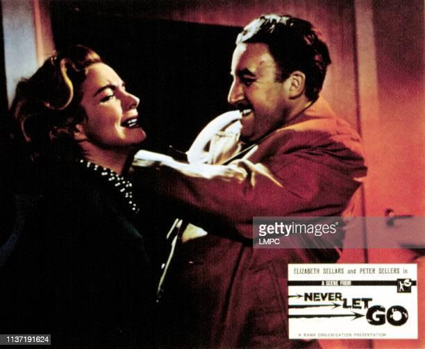 Never Let Go lobbycard Elizabeth Sellars Peter Sellers 1960