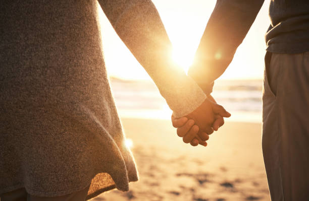 never let go - hands of married couple stock pictures, royalty-free photos & images