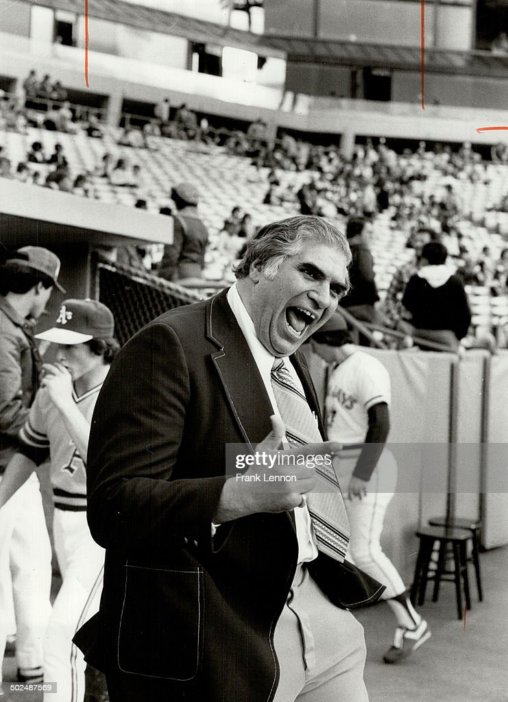 Never lost for words: Ron Luciano was notorious for his loquaciousness when he was an umpire. He's n : News Photo