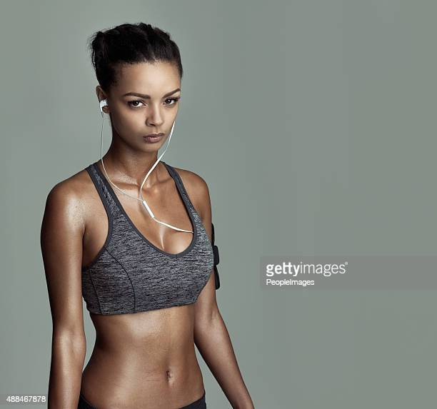 i never miss a chance to workout - sports bra stock pictures, royalty-free photos & images