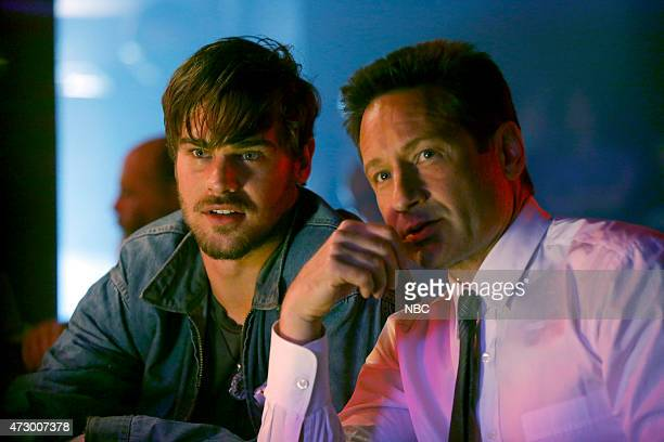 AQUARIUS 'Never Say Never to Always' Episode 103 Pictured Grey Damon as Brian Shafe David Duchovny as Sam Hodiak