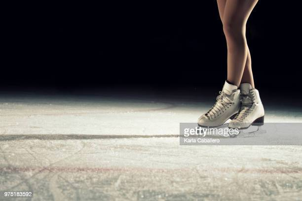 never stop dreaming - figure skating stock pictures, royalty-free photos & images