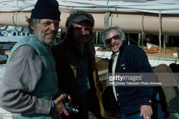 Neville Brand Charles Dierkop director Harvey Hart behind the scenes making of the ABC tv movie 'Captains Courageous'